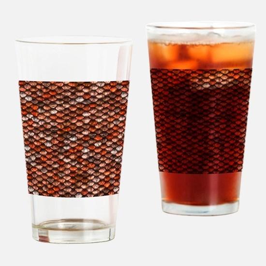 Mermaid Scales - Koi Drinking Glass