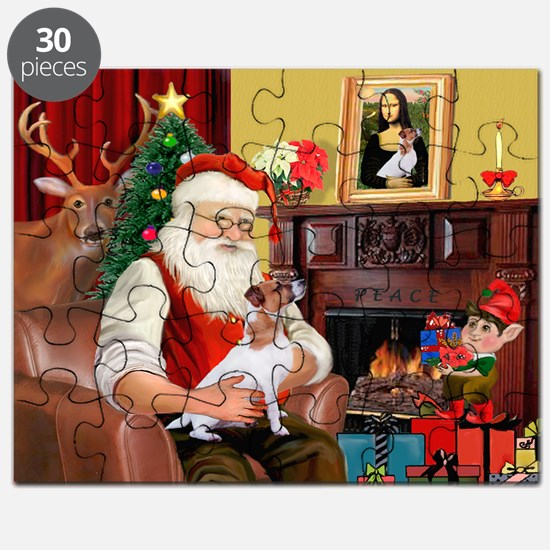 Santa's Jack Russell Puzzle