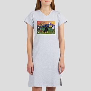 Fantasy Land & Min. Pinscher Women's Nightshirt