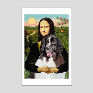Mona Lisa's Landseer Mini Poster Print