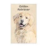 Golden Retriever Mini Poster Print