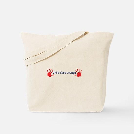 Child Care Lounge Tote Bag