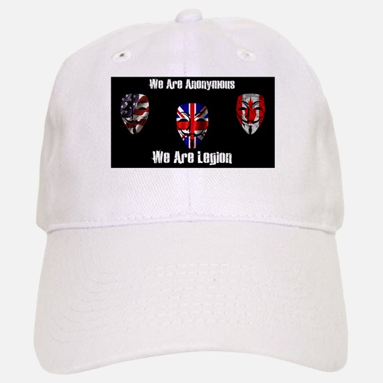 We Are Legion - Anonymous Baseball Baseball Cap
