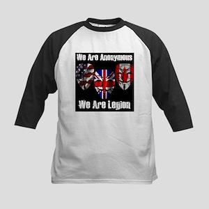We Are Legion - Anonymous Kids Baseball Jersey
