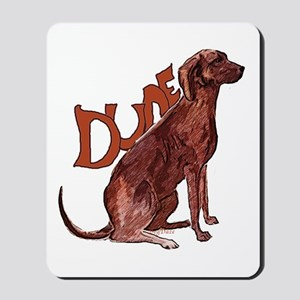 Plott Hound Mousepad