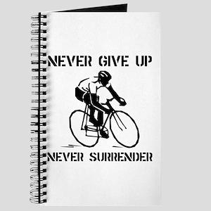 Never Give Up Biker Journal