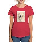 Golden Retriever Women's Dark T-Shirt