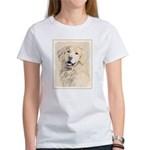 Golden Retriever Women's Classic White T-Shirt