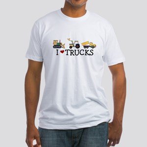 I Love Trucks Kids T-Shirt