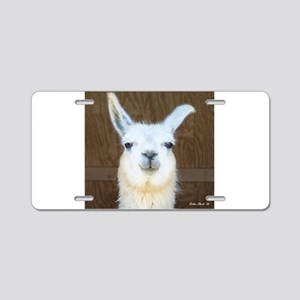 Llamas Aluminum License Plate