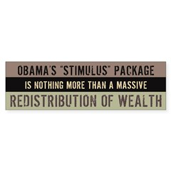 Failed Stimulus Sticker (Bumper 10 pk)