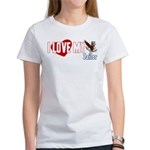 I Love My Sailor Women's T-Shirt