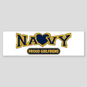 Navy Girlfriend Sticker (Bumper)