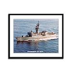 USS BLAKELY Framed Panel Print