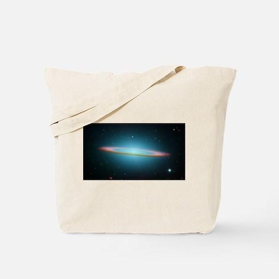 Cute Spitzer space telescope Tote Bag