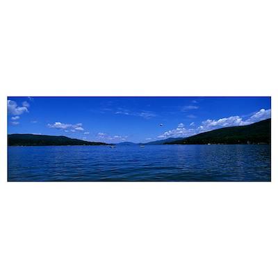 Lake George NY Poster