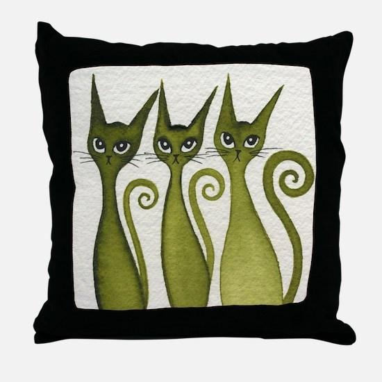 Merrimack Stray Cats Pillow