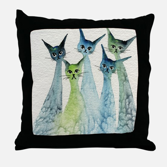 Lakeland Stray Cats Pillow