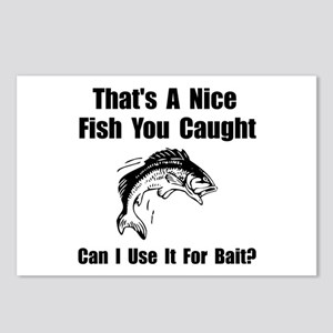 Fish Bait Postcards (Package of 8)