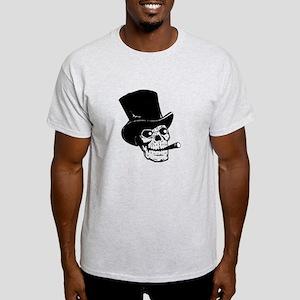 Top Hat Skull Light T-Shirt