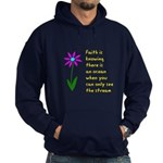 Faith is Knowing V3 Hoodie (dark)