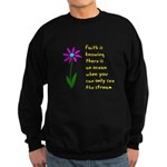 Faith is Knowing V3 Sweatshirt (dark)