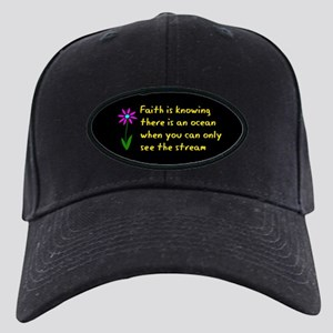 Faith is Knowing V3 Black Cap