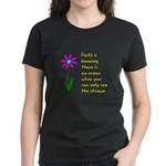 Faith is Knowing V3 Women's Dark T-Shirt