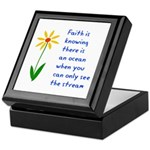 Faith is Knowing V3 Keepsake Box