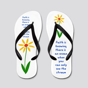 Faith is Knowing V3 Flip Flops