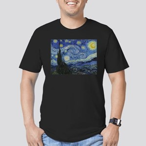 Starry Trekkie Night Men's Fitted T-Shirt (dark)