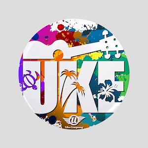 """Color Me Uke! 3.5"""" Button"""