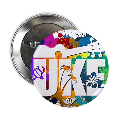 """Color Me Uke! 2.25"""" Button"""