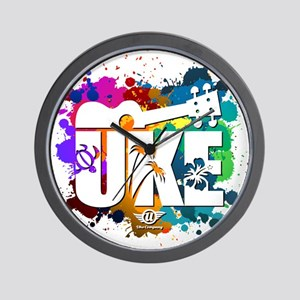 Color Me Uke! Wall Clock
