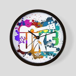 Color Me Uke! Wall Clock