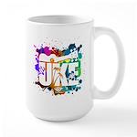 Color Me Uke! Large Mug
