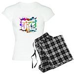 Color Me Uke! Women's Light Pajamas