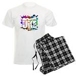 Color Me Uke! Men's Light Pajamas