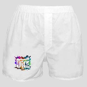Color Me Uke! Boxer Shorts