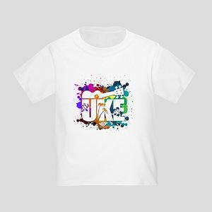Color Me Uke! Toddler T-Shirt