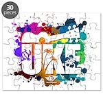 Color Me Uke! Puzzle