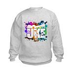 Color Me Uke! Kids Sweatshirt