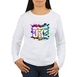 Color Me Uke! Women's Long Sleeve T-Shirt