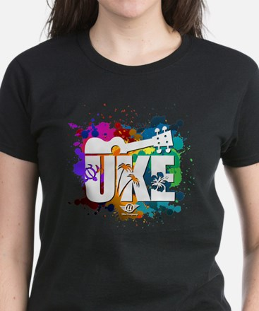 Color Me Uke! Women's Dark T-Shirt
