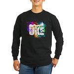Color Me Uke! Long Sleeve Dark T-Shirt