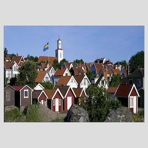 Sweden, coastal town