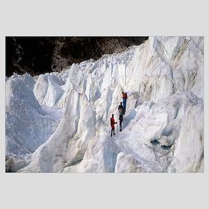 Trekking on Fox Glacier New Zealand