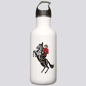 Canadian Police Mountie Stainless Water Bottle 1.0