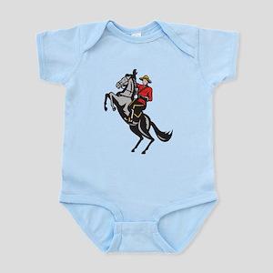 Canadian Police Mountie Infant Bodysuit