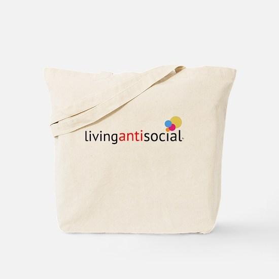 Living anti social Tote Bag